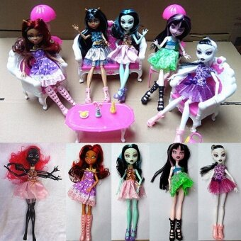 Party 27cm Halloween Doll Toys Princess Action Figures Kids Tricks Festival Scary - intl