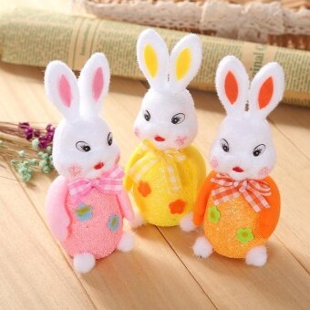 Party Easter Egg Rabbit DIY Crafts Easter Bunny Eggs Toys DollsNursery Party - intl