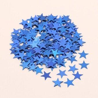 Pentagram Bright Piece Birthday Party Confetti Wedding Decoration - Blue - intl