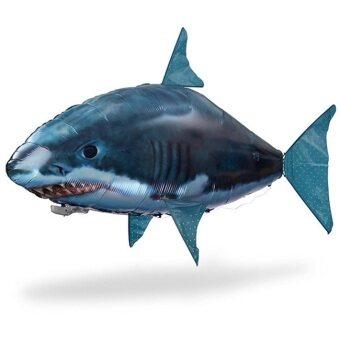 ปลาฉลาม บอลลูนบังคับวิทยุ - Blue/Black
