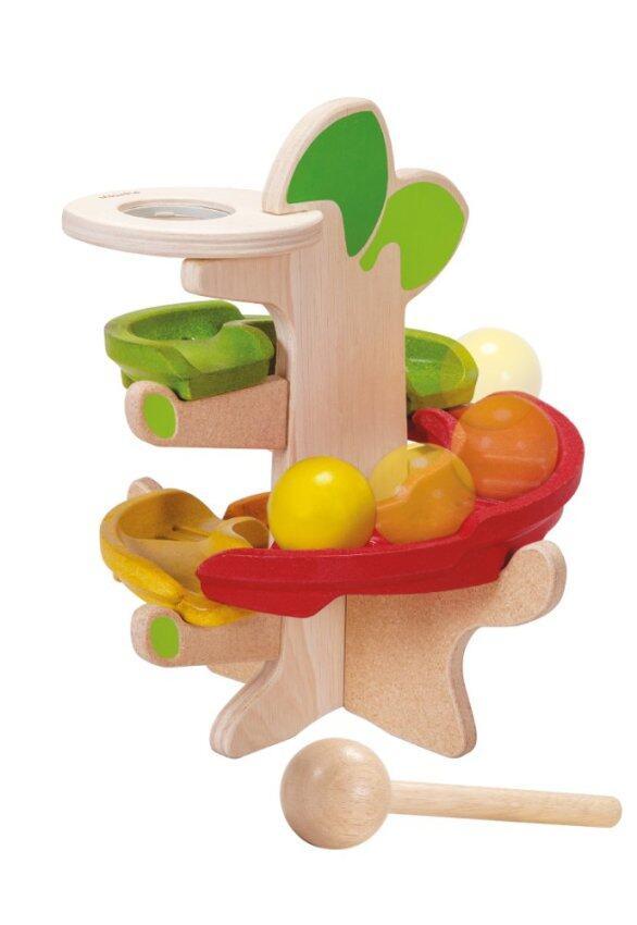 PlanToys CLICK CLACK TREE ตักตอกต้นไม้ Wooden Toy ของเล่นไม้ แปลนทอยส์ เสริมการเรียน เสริมทักษะ