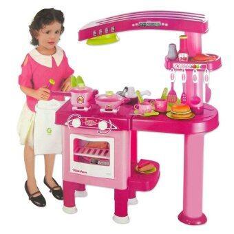 Play Us ชุดครัวโมเดิร์นใหญ่ - สีชมพู