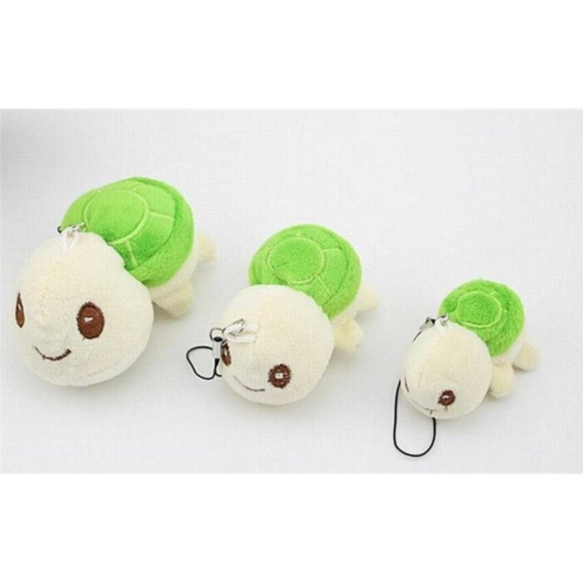 Plush Toy Doll Little Cute Tortoise For Baby Kid Lovely Plush Toy Wholesale Green - intl image