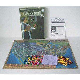 Power Grid Board Game Basis+Expand with English Instruction - intl