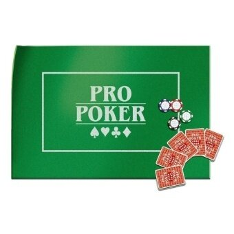 Pro Poker Table Top Green Felt Playing Surface - intl