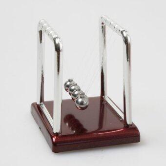ลูกบอลเหล็กน้ำหนักมหาศาลของนิวตันฟิสิกส์วิทยาศาสตร์ตุ้มเล่นโต๊ะโต๊ะ