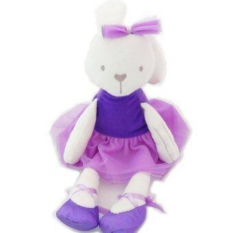 ตุ๊กตากระต่าย ใส่ชุดบัลเล่ เนื้อผ้านุ่ม น่ารัก น่ากอด