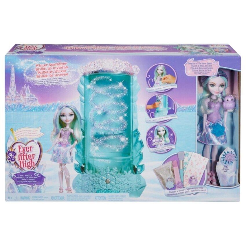 ตุ๊กตาบาร์บี้เจ้าหญิงหิมะและตู้ทำเกล็ดหิมะ ตู้ใช้ได้กับบาร์บี้รุ่นอื่นได้ด้วย