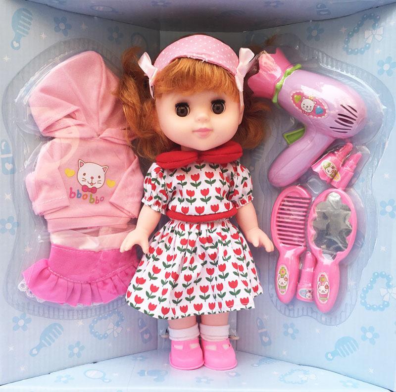 เจ้าหญิงจำลองสาวอาบน้ำของเล่นตุ๊กตา