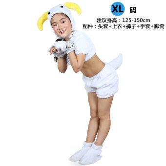 หกสิบหนึ่งตุ๊กตาวันเด็กเครื่องแต่งกายประสิทธิภาพการ์ตูนสัตว์เสื้อผ้าเครื่องแต่งกาย