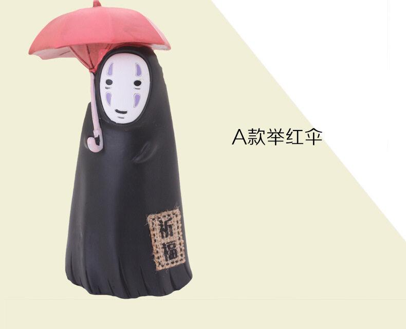 ฮาเยาโอะมิฮาซากิเรซินร่มหมวกฟางอะนิเมะตุ๊กตากระปุกออมสิน