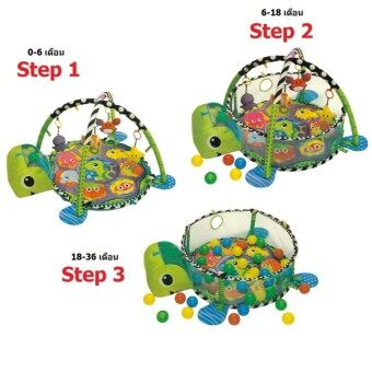 เพลยิมของเล่นเด็กปรับเปลี่ยนเป็นบ่อบอลได้