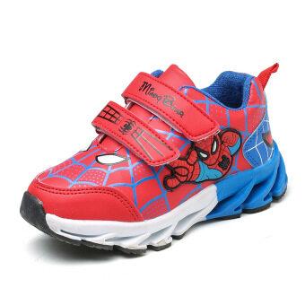 เกาหลีฤดูใบไม้ร่วงและฤดูหนาวเด็กชายรองเท้าวิ่งรองเท้าผ้าใบเด็ก