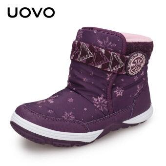 ฤดูหนาวใหม่เด็กรองเท้าหิมะรองเท้า