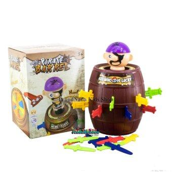 ProudNada Toys ของเล่นเด็กถังเสียบโจรสลัด(ถังใหญ่ จัมโบ้) PIRATEBARREL NO.H9898