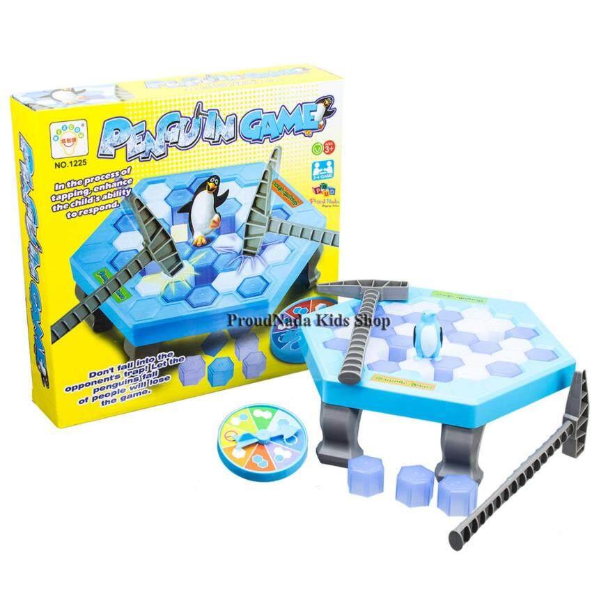 ProudNada Toys ของเล่นเด็กเกมส์แพนกวิ้นทุบน้ำแข็ง WIZCOM PENGUIN GAME NO.1225