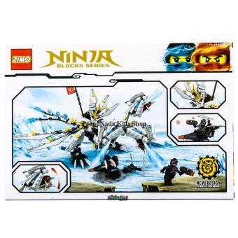 ProudNada Toys ของเล่นเด็กชุดตัวต่อเลโก้นินจา(กล่องใหญ่สุดคุ้ม)ZIMONINJA BLOCKS SERIES 393 PCS ZM2500 - 2