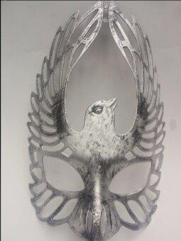 ย้อนยุค Pteris ฮาโลวีนเครื่องแต่งกายหน้ากาก
