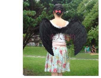 Qiaoshiting ชุดแฟนซีปาร์ตี้ขนนก