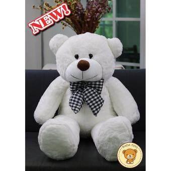 ตุ๊กตาหมี ขนาด 1 เมตร (สีขาว) ผลิตในประเทศไทย