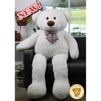 RADA ตุ๊กตาหมี ตัวใหญ่ ขนาด 1.6 เมตร (สีขาว) ผลิตในประเทศไทย