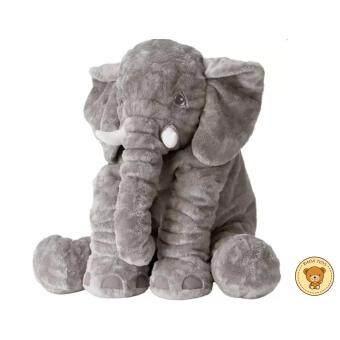 RADA ตุ๊กตาช้างน้อย น่ารัก ขนนุ่มมาก ขนาด 60 cm. (สีเทา)