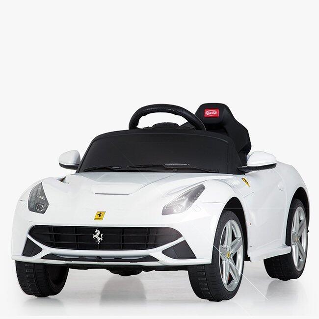 Rastar รถแบตซุปเปอร์คาร์สำหรับเด็ก Ferrari F12 - White