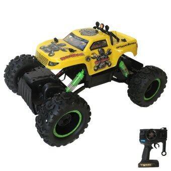 Rctoystory รถบังคับ ไต่หิน crawler 1/12 (สีเหลือง)