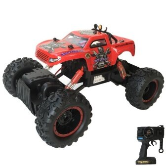 Rctoystory รถบังคับ ไต่หิน crawler 1/12(สีแดง)