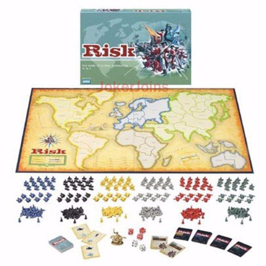RISK Board Game The Game of Global Domination English Edition for 2~6 Players for Christmas New Year Party - intl