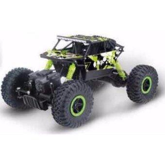 รถบังคับไต่ภูเขา Rock Crawler 4WD 2.4ghz (Green)
