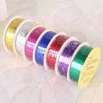 Romantic Lace Roll DIY Washi Decorative Sticky Ribbon Tape Self Adhesive Silver - intl