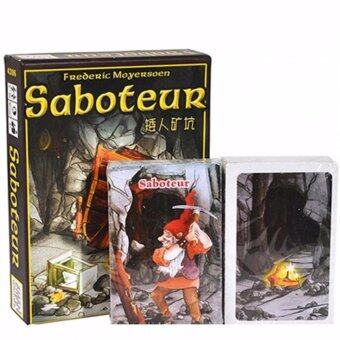 Harga Saboteur Board Game 1+2 Version Jeu De Base+Extension Board Gamewith English Instructions Family Board Christmas Party Game - intl