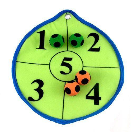 SAFSOF ชุดลูกบอลปาเป้า รุ่น BNT-01(P)-Z (เป้ากลมสีเขียวขอบฟ้า,บอลส้มเขียว)