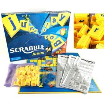 Harga SCRABBLE Board Game Junior with Malay Instruction Educational Toys- intl