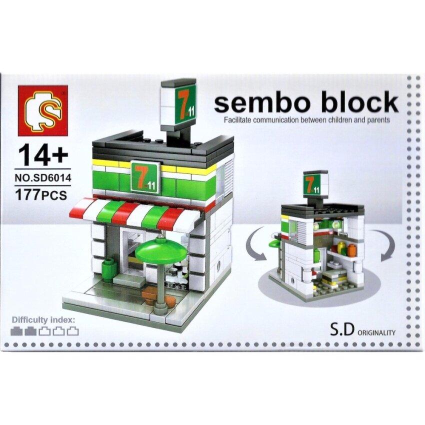 ตัวต่อ SEMBO BLOCK LEGO เลโก้ ร้านค้า สะดวกซื้อ เซเว่น อีเลเว่น 7-ELEVEN image