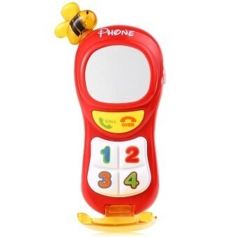 SH Baby Musical Cell Phone Electronic Educational Toys Red Red - intl