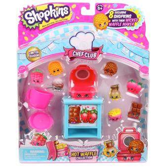 Shopkins ของเล่น ของสะสม Shopkins Chef Club Hot waffle Collection