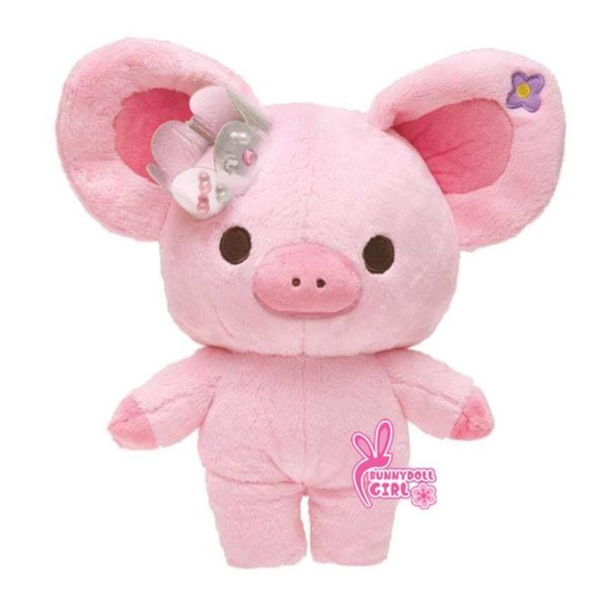 ตุ๊กตาหมูน้อย หมูสีชมพูสวมมงกุฎ (SIZE XL 55cm.)ของขวัญวันเกิด ของขวัญวาเลนไทน์