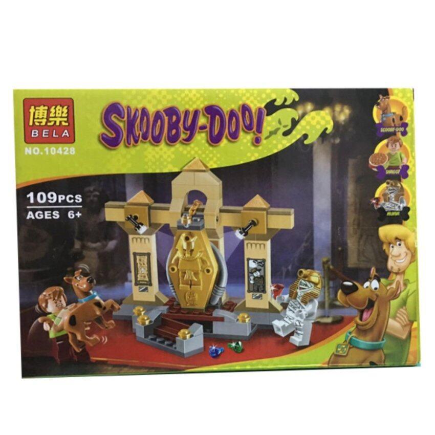 SKOOBY-DOO! ชุดตัวต่อเลโก้ NO.10428 มัมมี่ (109 PCS.)
