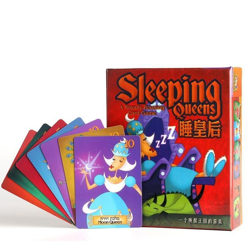 Sleeping Queens Funny Party Board Game Kids Educational Toys with English Instructions - intl