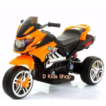 Smileรถแบตเตอรี่เด็ก รถเด็กนั่ง มอเตอร์ไซค์บีเอ็ม ขนาด2มอเตอร์ LNM5955 รถมอเตอร์ไซค์เด็ก