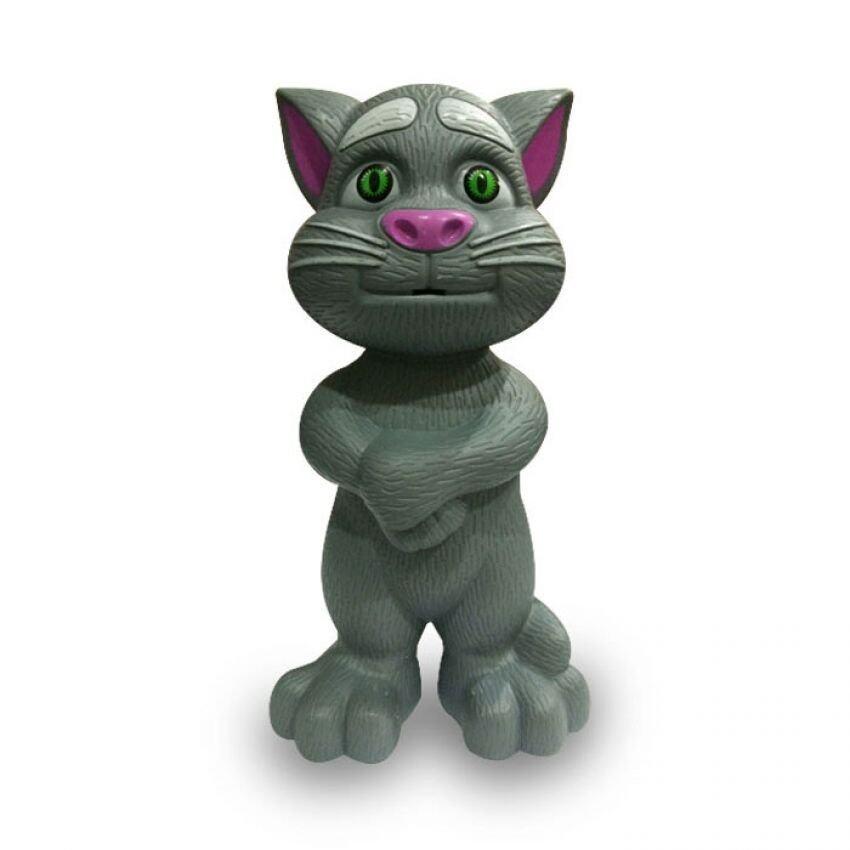 Snook Toys Talking Tom Cat (Thai) แมวทอมอัจฉริยะ พูดได้ เวอร์ชั่นภาษาไทย - สีเทา