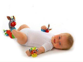 Sozzy สายรัดข้อมือเด็กและถุงเท้าเด็กเสริมพัฒนาการ set 4 ชิ้น - 2