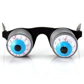 Spring Popping Eye Balls Glasses Novelty Halloween Props Chic - intl