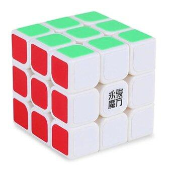 Harga [Stock YJ] Speed Dragon Professional Rdy Rubik Cube Smooth Puzzle3x3 -white - intl