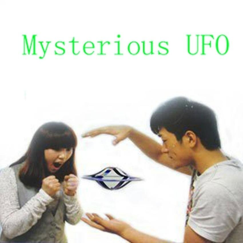 Street Magic UFO Mystery UFO Floating Flying Saucer Toy ClassicToys Flying Saucer Magic Trick Disk Mystery Floating UFO - intl