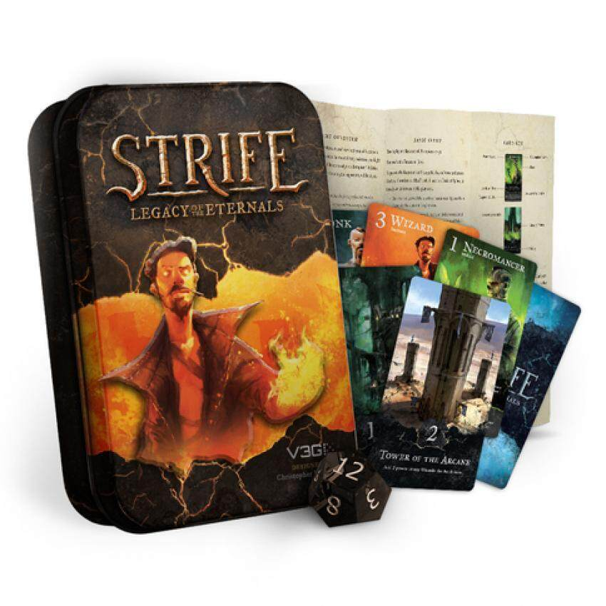 Strife: Legacy of The Eternals 2014 Edition Card Game image
