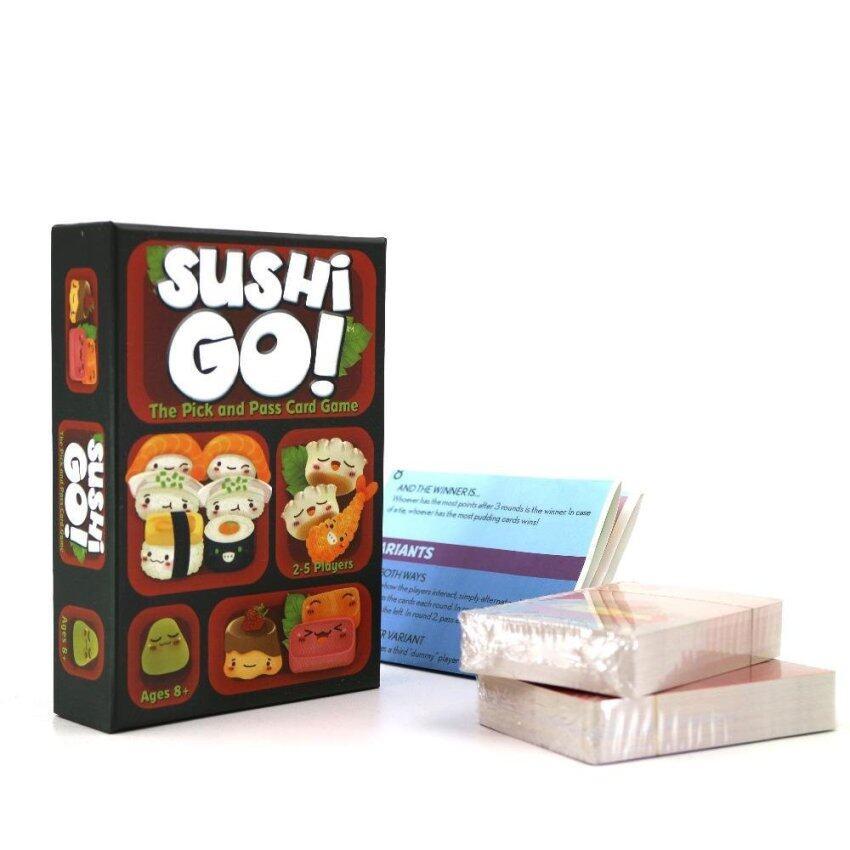 Sushi Go Card Game Full English Version Board Game - intl