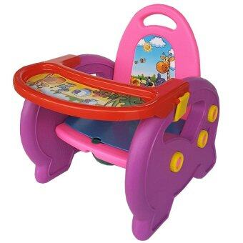 Taro Toy เก้าอี้อเนกประสงค์สำหรับเด็ก รุ่น 3 in 1 (สีเหลือง/แดง/ม่วง)